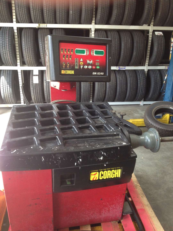 corghi 8540 wheel balancer  calibration plate